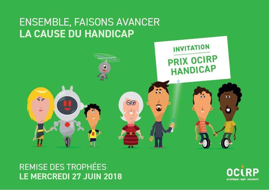 Remise des trophées du 11e PRIX OCIRP HANDICAP le 27 juin 2018