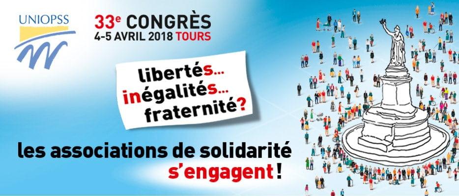 Congrès UNIOPSS des 4 et 5 Avril 2018