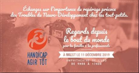 """La Campagne """"Handicap, Agir Tôt"""" fait escale à Brest"""