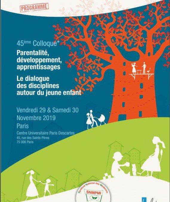 Parentalité, développement, apprentissages Le dialogue des disciplines autour du jeune enfant