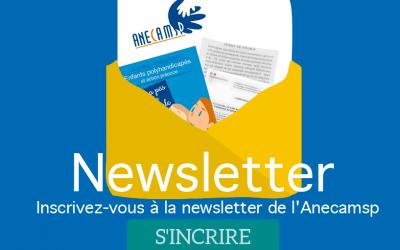 Page  d'inscription à la Newsletter