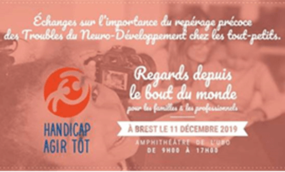 La Campagne «Handicap, Agir Tôt» fait escale à Brest