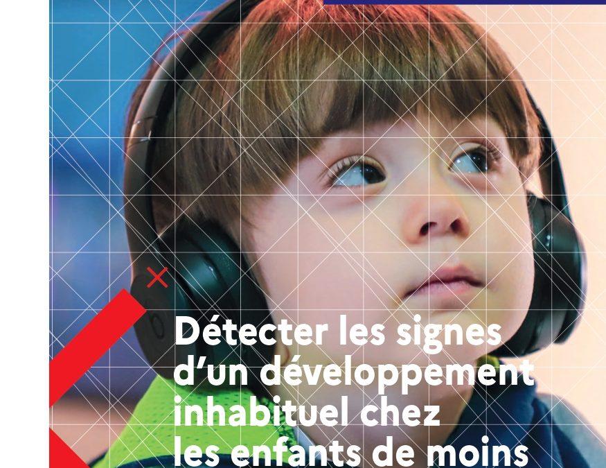 Repérage des Troubles du Neuro-Développement (TND) : un nouveau livret pour l'intervention précoce