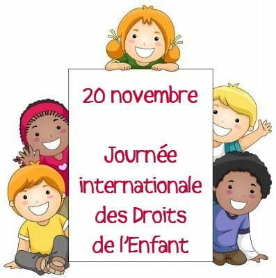 Journée Internationale des Droits de l'Enfant, le 20 novembre