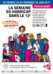 Semaine du handicap – Paris 12°
