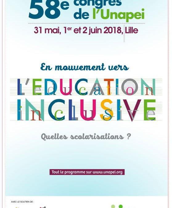 58ème Congrès de l'UNAPEI à Lille