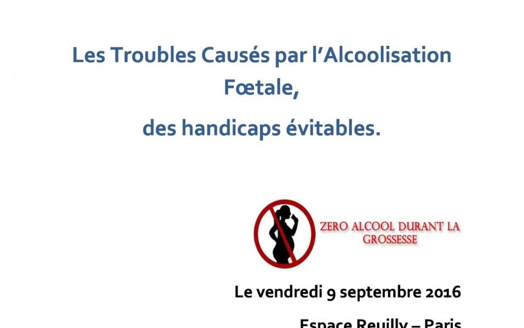 Colloque ANECAMSP – SAF France – Vivre avec le SAF – 9 Septembre 2016